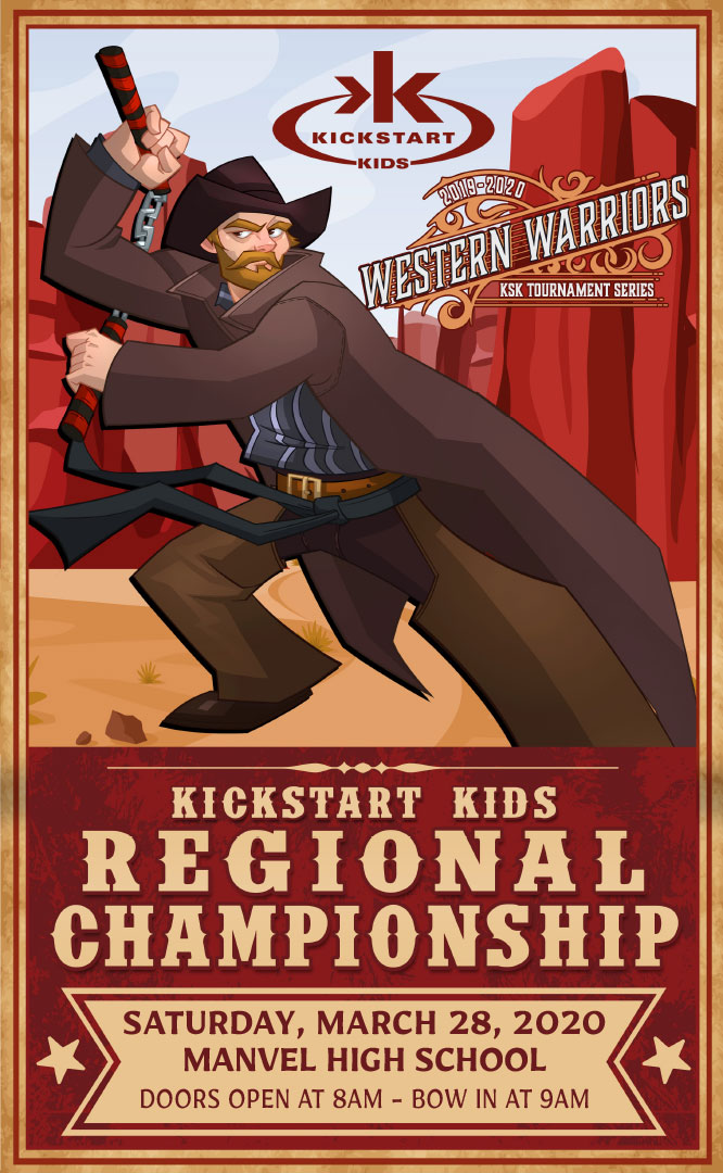 Kickstart Kids – 2020 Southeast Texas (Region 1) Regional Championship on TournamentTiger - Tournament software by martial artists for martial artists.