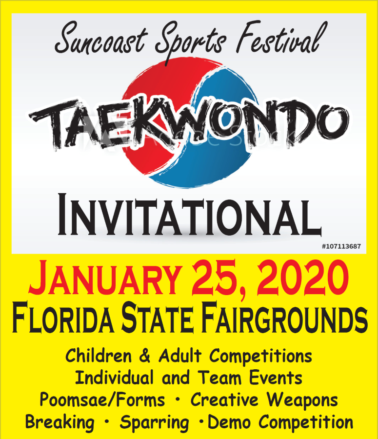 Suncoast Sports Festival Taekwondo Invitational 2020 on TournamentTiger - Tournament software by martial artists for martial artists.