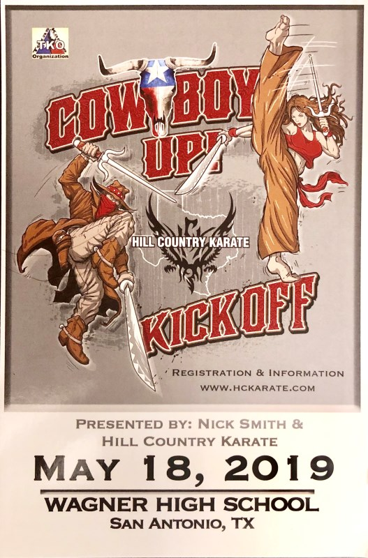 Texas Cowboy Kickoff 2019 TKO Qualifier on TournamentTiger - Tournament software by martial artists for martial artists.
