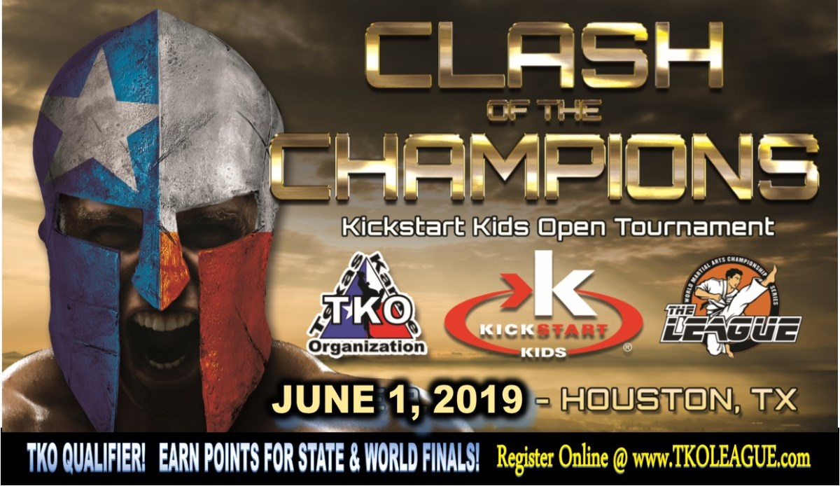 KickStart Kids Open 2019 TKO Qualifier on TournamentTiger - Tournament software by martial artists for martial artists.