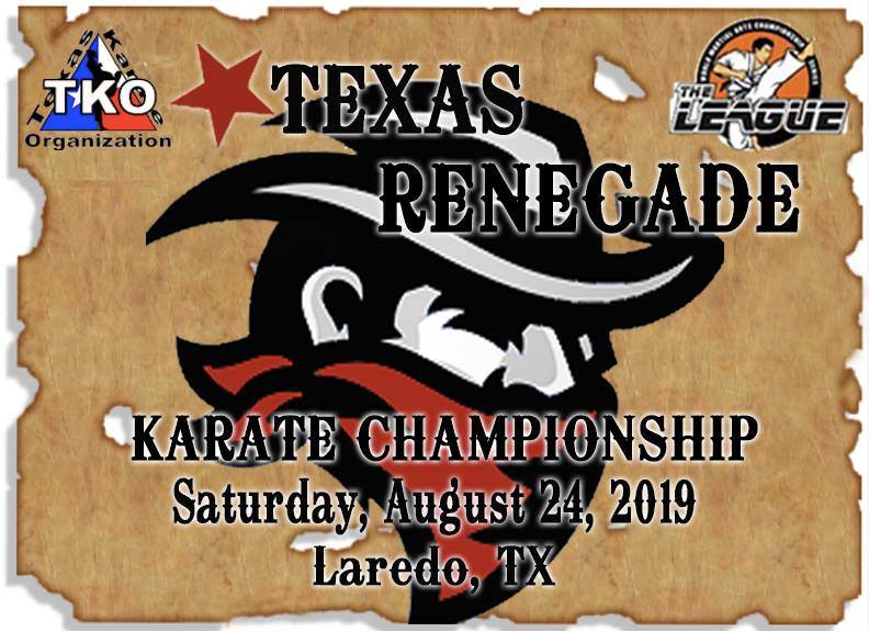 Texas Renegade 2019 TKO Qualifier on TournamentTiger - Tournament software by martial artists for martial artists.