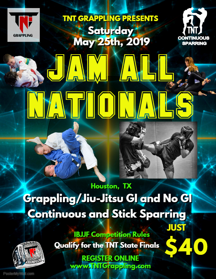 Jam All Nationals 2019 TNT Qualifier on TournamentTiger - Tournament software by martial artists for martial artists.