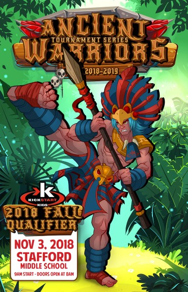 Ancient Warriors Kickstart Kids 2018 Fall Qualifier on TournamentTiger - Tournament software by martial artists for martial artists.