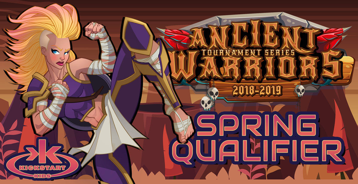 Ancient Warriors Kickstart Kids 2019 Spring Qualifier on TournamentTiger - Tournament software by martial artists for martial artists.