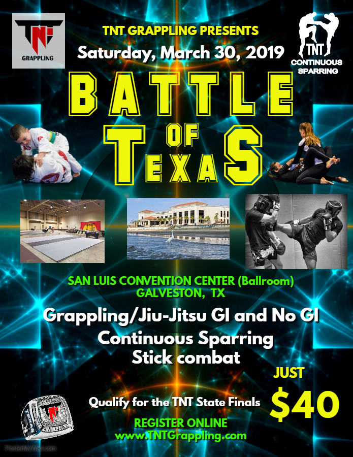 Battle of Texas 2019 TNT Qualifier on TournamentTiger - Tournament software by martial artists for martial artists.